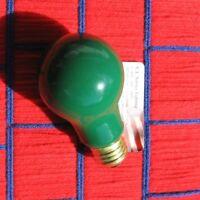 Boxof 4 NEW USA 8,000 HR rouge transparente Parti A19 /& panneau ampoule 25 W 25 W