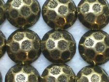 1000 Hammered Head Antique Brass Finish Decorative Upholstery Tacks / Nails