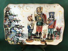 NEW~1 Williams Sonoma TWAS THE NIGHT CHRISTMAS ~ Nutcracker Platter