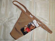 Triumph perizoma string gioiello nude bronzo raso Nuovo con etichetta mis S