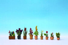 Noch 14012 - Pre-Painted Plants in Pots Scenic Item 1/87th = 'H0' Gauge 1st Post