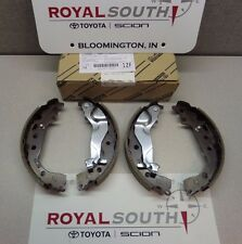 Toyota Prius Yaris Rear Brake Shoes Genuine OEM OE