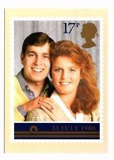 Royal Wedding, Prince Andrew & Sarah Ferguson - Post Office Picture Postcard