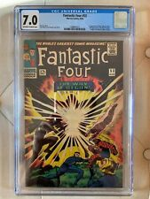 Fantastic Four #53 - CGC 7.0 - 1st appearance Klaw, 2nd appearance Black Panther