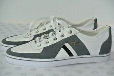 NEW Creative Recreation Mens Sz 9 / 42 White Leather & Gray Suede Sneakers