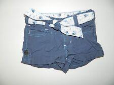 PUMPKIN PATCH girls Blue BELTED Shorts* 6 12 18 months