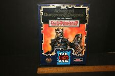 1994 TSR Inc Advanced Dungeons & Dragons Death Eye of the Beholder III PC Game .