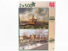 LOT 31688 Jumbo Puzzle 18344 Noorderkerk Amsterdam 1665 2x 500 Teile NEU in OVP