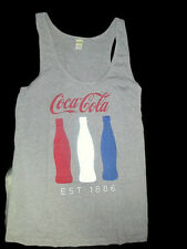 Coca-Cola Red, White, and Blue Bottle Tank Top Ladies X-Large XL - BRAND NEW