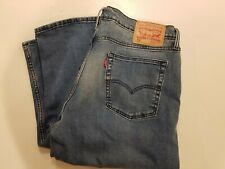 Levi's 514 Relaxed Fit Straight Denim Jeans, 36x36 EUC