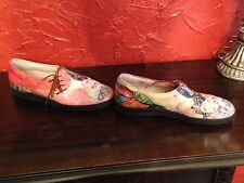 Icon shoes- Arty Prints of The Girlfriends by Gustav Klimt-Size 6 1/2
