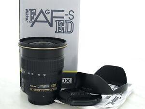 Nikon AF-S Nikkor 12-24mm 4.0 G ED DXWeitwinkel Objektiv Gewährleistung 1 Jahr