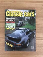 THOROUGHBRED & CLASSIC CARS--DEC 1981 inc PORSCHE 3.3 TURBO + ROLLS ROYCE