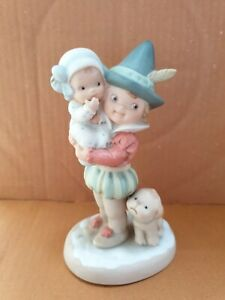 """Enesco Mabel Lucie Attwell """"Wishing you a jolly holiday"""" Memories of Yesterday"""