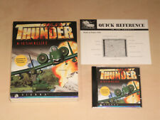 Silent Thunder A-10 Tank Killer PC Big Box Computer Game - Sierra - Vintage 1996