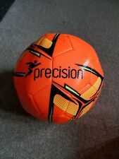 New Precision Football Flourescent Orange Size Four All Weather