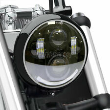 5.75 Projector LED Headlight Round For Harley Dyna Sportster XL 1200 883 DOT