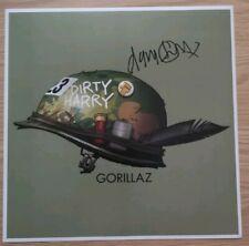 SIGNED DAMON ALBARN THE GORILLAZ BLUR INDIE VINYL POP ROCK12x12 PHOTO PROOF