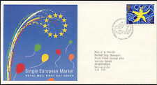 GB FDC 1992 Single European Market, Bureau H/S #C22913