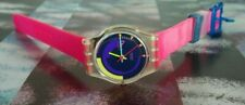 SWATCH, LADY, LK119, PINK PODIUM, NOS, femme, montre, suisse, swatch