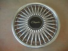 "1990 90 1991 91 1992 92 Chrysler Lebaron Hubcap Rim Wheel Cover Hub Cap 14"" 474"