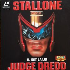 LASERDISC-JUDGE DREDD - PAL VF WS - STALLONE