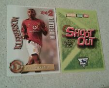 SHOOT OUT CARD 2003/04 (03/04) - Green Back -Manchester United - Kleberson