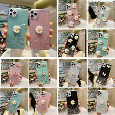 For iPhone SE 2020 11 Pro Max XS XR 8+Girls Pattern Bling Clear Phone Case Cover