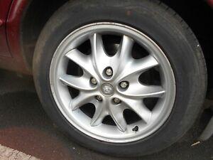"Jaguar XJ X300 X308 17"" Celtic Alloys. Set of 4 with legal tyres. 1994-2002"