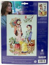 Janlynn Cross Stitch Kit Platinum Collection Friends in the Garden 023-0379