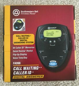 Southwestern Bell Call Waiting Caller ID Digital Answerer FA998 New NIB Phone