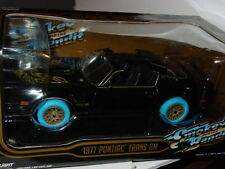 Greenlight 1977 PONTIAC TRANS AM SMOKEY & the BANDIT Blue Machine SUPER CHASE!