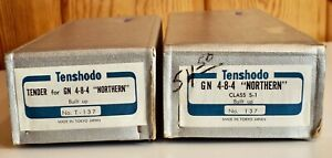HO TENSHODO PACIFIC FAST MAIL EARLY GREAT NORTHERN S-1 4-8-4 NORTHERN