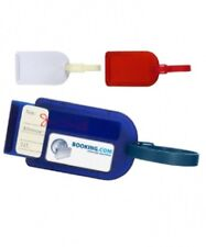 25 Luggage Tags Personalized with Your Company Name, Logo. Full Color Imprint!