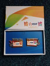 London 2012 olympics pin badges
