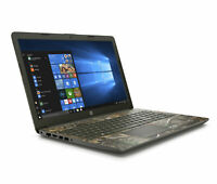 "HP Notebook 15.6"" HD AMD Ryzen 3 3.4GHz 1TB HDD Radeon R3 DVD 4GB RAM Win10 Camo"