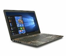 "HP Notebook 15.6"" HD AMD Ryzen 3 3.4GHz 1TB HDD Radeon R3 DVD 4GB RAM Win10 Camo"