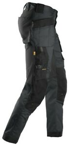 Snickers All round Work Stretchy Tapered Leg Trousers Holster Pockets - 6241