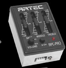 ARTEC APC PRO Guitarra acústica con Pastilla Kit De Preamplificador piezo y jack Kit