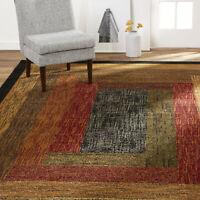 "7'8"" x 10'4"" Modern Vintage Area Rug Rectangular Geometric Living Room Accent"