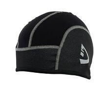 Deckra Cycling Cap Thermal Cold Wear Under Helmet Windstopper Skull Cap Black