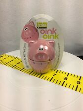 Joie Piggy Wiggy Pig Shaped Kitchen Timer 60 Minute Baking Cooking NWT Bx235