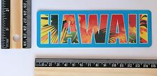welcome to Hawaii Honolulu Travel Vacation luggage label Decal sticker #2718