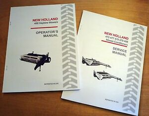 New Holland 488 Haybine Mower Conditioner Operator's and Service/Repair Manual