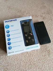 Olympus DM-670 digital voice recorder