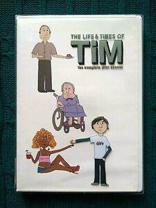 THE LIFE & TIMES OF TIM - SEASON 1 – DVD, 2-DISC SET- R-1, LIKE NEW, FREE POST