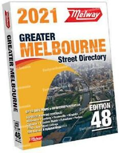 2021 MELWAY Melbourne Street Directory Edition 48 IN STOCK MELWAYS