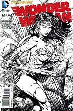 New DC 52 WONDER WOMAN #36 1:50 DAVID FINCH VARIANT SKETCH COVER