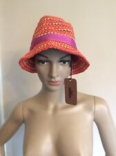 Missoni Hat NEW BNWTS rrp £275 Beach Size Large Multi Coloured Women's