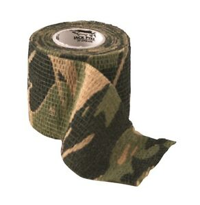 Stealth Reusable Camouflage Camo Stretch Cloth Gun & Hunting Bow No Mar Tape